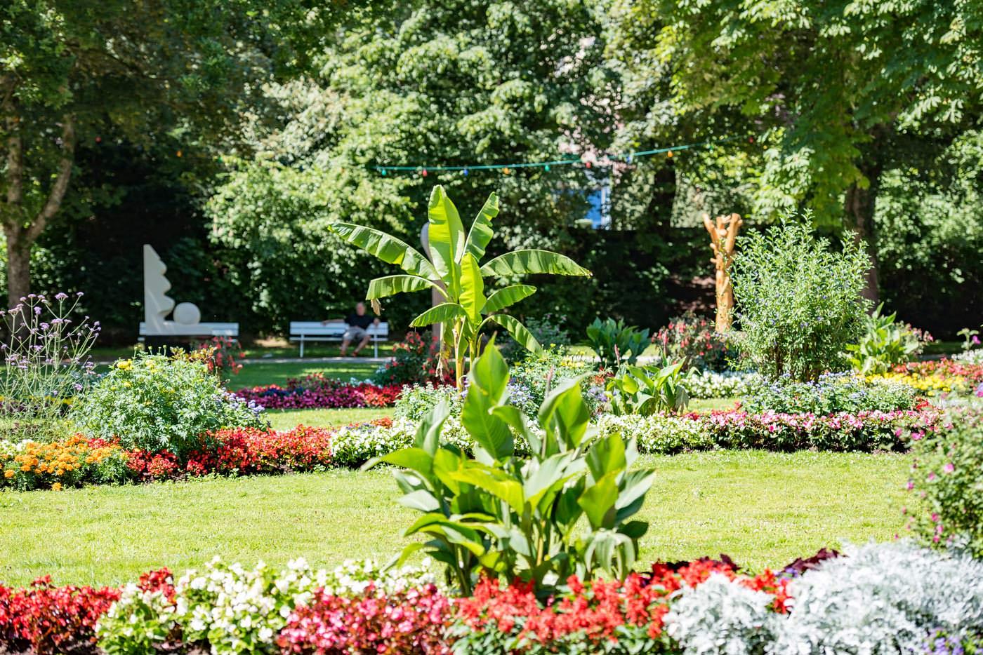 Kurpark Bad Liebenzell Sommer