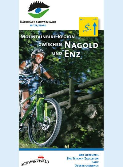 Mountainbike Flyer Radfahrerin