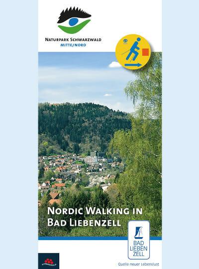 Nordic Walking Titelseite Blick über Bad Liebenzell