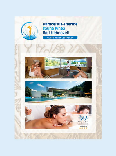 TItelseite Paracelsus Therme Imagebroschüre