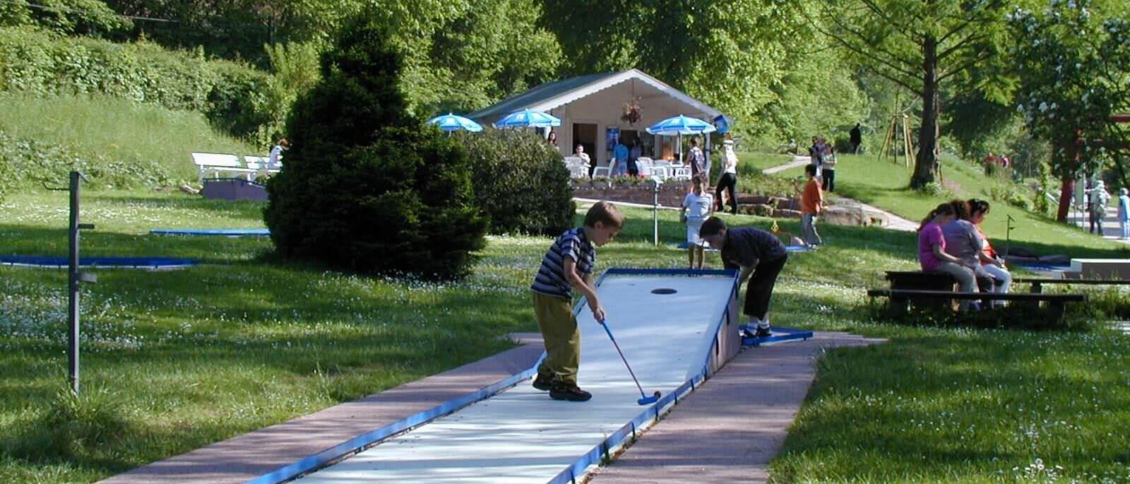 minigolf Kurpark Bad Liebenzell