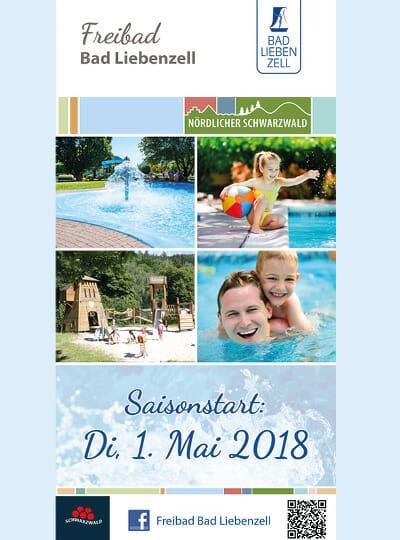 Freibad Flyer 2018
