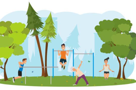 Grafik Fitness-Pfad