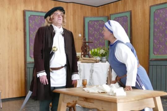 Paracelsus_Bad_Liebenzell Ben Millef, Barbara Schmidtke, Freies Theater