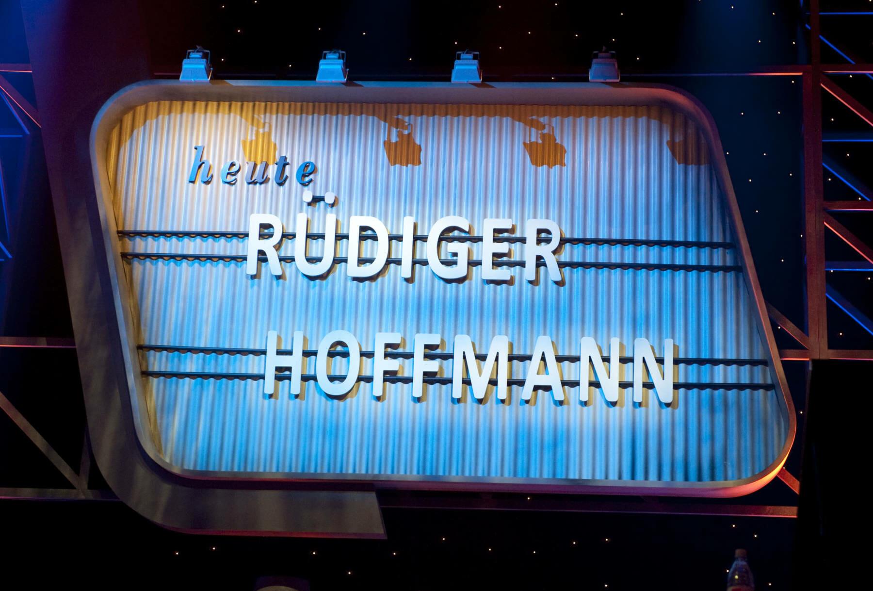 RUEDIGER HOFFMANN live