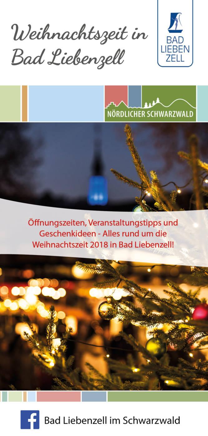 Titelseite Weihnachtsfolder