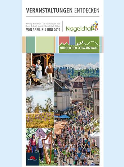 Veranstaltungskalender Titelseite Frühlingsbilder der Region